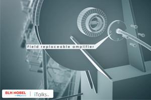 field replaceable amplifier in load pin explosion rendering