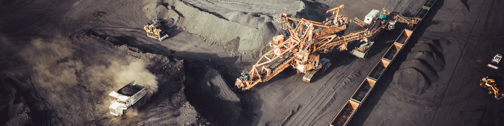 Mining transport page banner