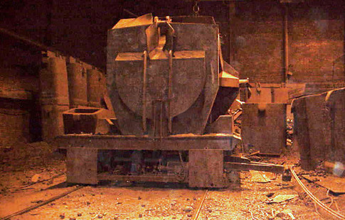 scrap and ladle car weighing application image