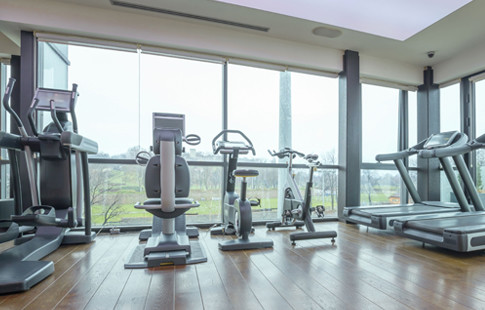 rehab gym with devices